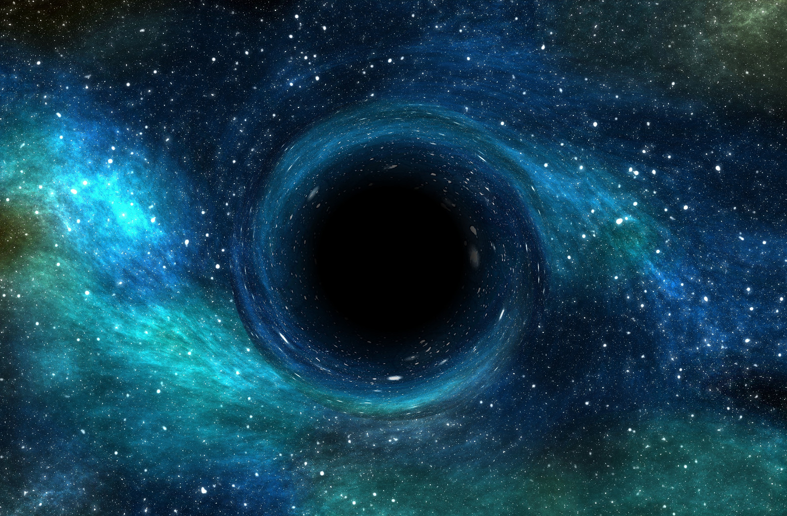 black hole picture - HD 1580×1037